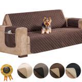 Capa protetor para sofá 3 lugares impermeável - Vitor bordados