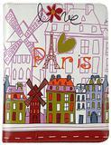 Capa Protetora Folio Akashi Paris Para iPad - Lojascast