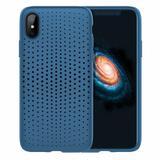 Capa Protetora TPU Rock Dot Series para iPhone X / XS - Azul