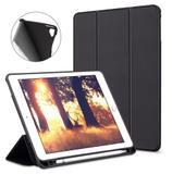 Capa Smartcase para New Ipad 10.2 (7ª geração)- Com Suporte para Pencil - Preta - Fly