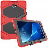 Capa Survivor Samsung Galaxy Tab A 10.1 P585 P580 + P. Vidro - Lk