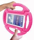 Capa Tablet Galaxy Tab A6 A7 T280 T285 7'' Volante Rosa - Igury