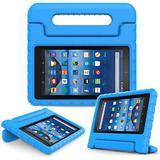 Capa Tablet Samsung Galaxy Tab 7.0'' Infantil Anti Impacto Com Alça Cor:Azul - Fam