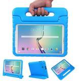 Capa Tablet Samsung Galaxy Tab E 9.6 T560 T561 T565 Anti Impacto Infantil Maleta Azul - Lucky