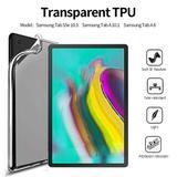 "Capa TPU Silicone Transparente Para Tablet Samsung Galaxy Tab A 10.1"" (2019) SM- T510 / T515 - Fam"