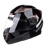 Capacete Motociclista Texx Gladiator Articulado Preto Brilhante