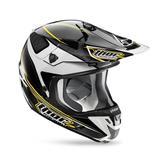 Capacete para Motocross Thor Verge AMP - Preto