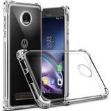 Capinha Silicone Motorola Moto G6 Plus TPU Anti Impacto Transparente - Hrebos