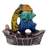 Caravela enfeite para aquário decoração. - Shop everest