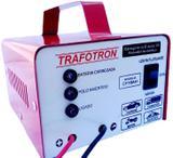Carregador Bateria 12v 10ah Flutuante Carro Moto Cf10 - Trafotron