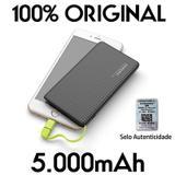 Carregador Original portatil pineng 5000mah slim  compativel iphone 7 - Pining