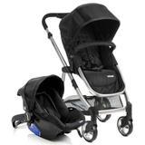 Carrinho Bebe Travel System Epic Lite Onyx + Bebe Conforto - Infanti