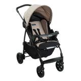 Carrinho de Bebê Burigotto Ecco 4 Posições - Capuccino