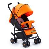 Carrinho de bebe kangalup go! - laranja