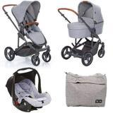 Carrinho de Bebê Kit Como4 Woven Grey ABC Design - Abc desing