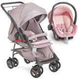 Carrinho de Bebê Maranello 1381GCZR + Bebê Conforto 8181ROBG - Galzerano