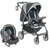 Carrinho De Bebê Módulo Com Bebê Conforto Zig Zag - Burigotto