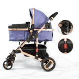 Carrinho de bebê moises reversivel luxo mc5014az - Mega compras