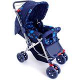Carrinho de Bebê - Reversível - Azul - Apis baby