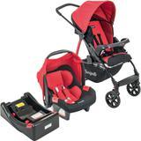 Carrinho de Bebê Travel System Burigotto Ecco Red + Base