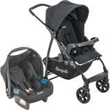 Carrinho de Bebê Travel System Burigotto Ecco + Touring Evolution Se Preto