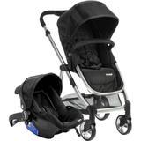 Carrinho De Bebê Travel System Epic Lite Onyx - Infanti