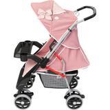 Carrinho de Bebê Tutti Baby Thor Plus - Rosa Coroa