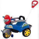 Carrinho De Passeio Ou Pedal Triciclo Baby City M-Patrol - Maral