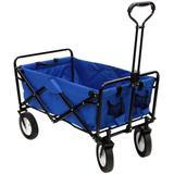Carrinho Dobrável Nautika Wagon Azul
