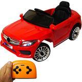 Carrinho Mini Carro Elétrico Infantil Criança Bw007 Branco Vermelho C/ Controle Remoto - Importway