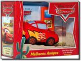 Carros: Melhores Amigos - 1 Boneco de Pano da Disney - Dcl
