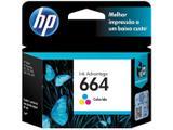 Cartucho de Tinta HP Colorido 664 Original