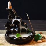 Cascata de Fumaça Flor de Lótus Grande - Relaxar e meditar