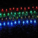 Cascata Luminosa Pisca COLORIDA 110v 1062 4 Fases 120 LED 127V - Xl