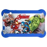 Case Para Tablet 7 Polegadas Disney Avengers Azul - PR938 - Multilaser