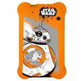 Case Para Tablet 7 Polegadas Star Wars Laranja  Multilaser - PR940