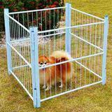 Casinha Cachorro Cercado Pet Filhotes Cão 4/80cm com Portão - Utilaco