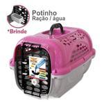 Casinha Caixa De Transporte Para Cães E Gatos Panther N2 - Plast pet