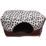 Casinha Pet Caminha Cachorro Iglu Toca Gato 2 x 1 Joaninha M - Kipdog