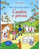 Cavalos e pôneis : Meu livro de colorir