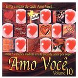 CD Amo você Vol.10 - Mk music