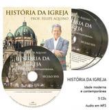 Cd historia da igreja - idade antiga c/ 5 cds - Editora cléofas