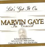 CD Marvin Gaye - In Concert - Rhythm and blues