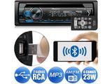 CD Player Pioneer DEH-S4180BT Bluetooth USB Android Iphone Auxiliar Mixtrax 2 Saídas RCA 1DIN