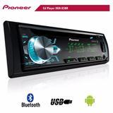 Cd Player Pioneer Deh-x500br Som Automotivo Com Bluetooth*