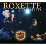 CD Roxette - Live In Sydney - Acervo