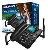 Celular Telefone De Mesa 3G Aquario Ca-40-3G - Aquário