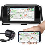 Central Mp5 Nissan Kicks Bluetooth Espelhamento Câmera De Ré - 7018b