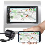 Central Mp5 Palio 03 A 12 Bluetooth Espelhamento Câmera Ré - 7018b