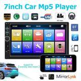 """Central Mp5 Universal Espelhamento Bluetooth Tela de 7"""" - Enfeit-car"""